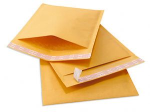 PADDED ENVELOPES GOLD SIZE 3 - INTERNAL 215X310MM - X100